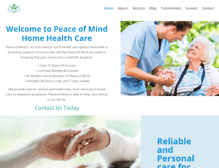 seniorcareboston.com screenshot