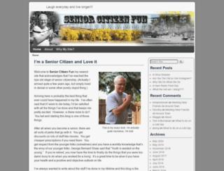 seniorcitizenfun.com screenshot