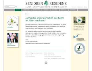 seniorenresidenz-badnauheim.de screenshot