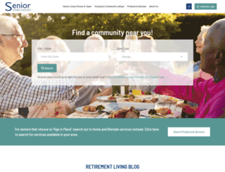 seniorlivingchoices.com screenshot