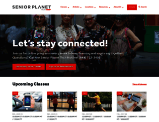 seniorplanet.org screenshot