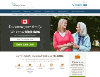 seniorszen.com screenshot