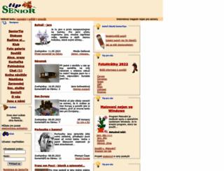 seniortip.cz screenshot