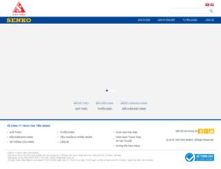 senko.com.vn screenshot