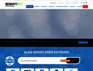 senkronet.com.tr screenshot