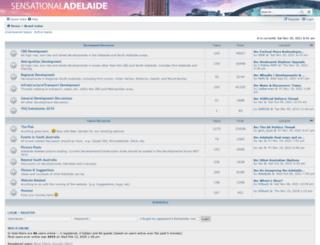 sensational-adelaide.com screenshot