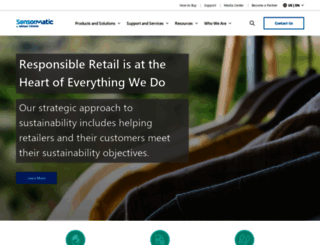 sensormatic.com screenshot