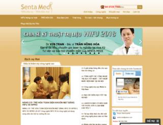 senta.com.vn screenshot