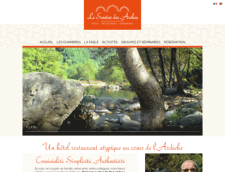 sentierdesarches.com screenshot
