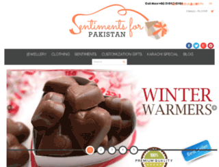 sentimentsforpakistan.com screenshot
