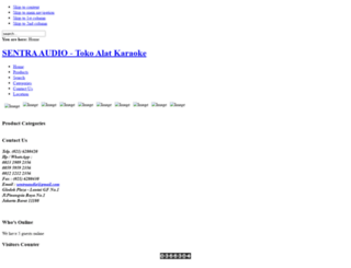 sentra-audio.com screenshot