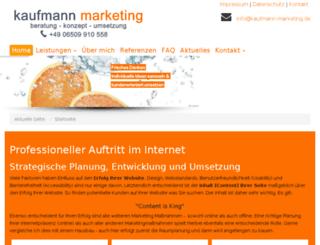 seo-beratung-kaufmann.de screenshot