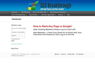 seo-breakthrough.com screenshot