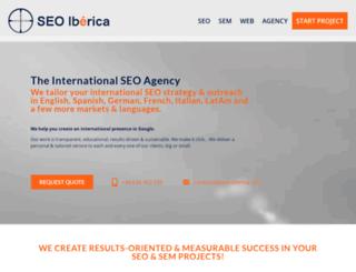 seo-iberica.com screenshot