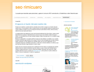 seo-rimicuaro.blogspot.com.ar screenshot