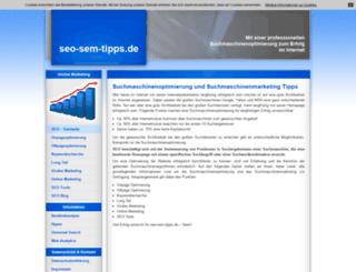 seo-sem-tipps.de screenshot
