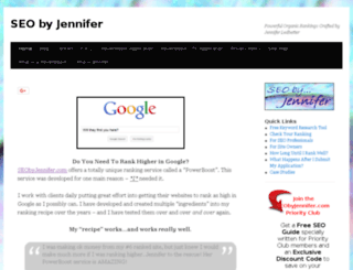 seobyjennifer.com screenshot
