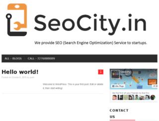seocity.in screenshot