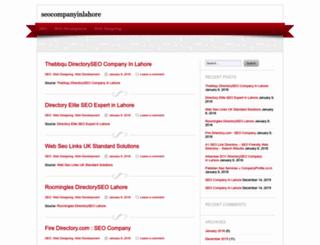 seocompanyinlahore.wordpress.com screenshot