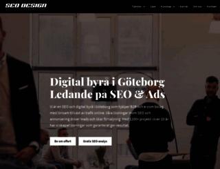 seodesign.se screenshot