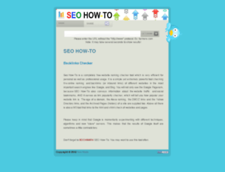 seohow-to.com screenshot