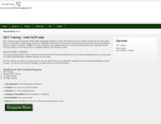 seoindiatraining.com screenshot