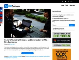 seopackages.net screenshot