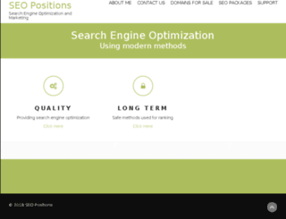 seopositions.net screenshot