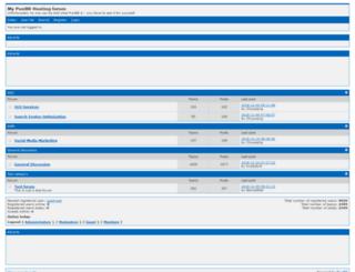 seoray.punbb-hosting.com screenshot