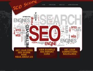 seoreportcard.com screenshot