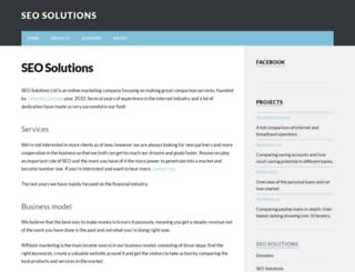 seosolutions.se screenshot