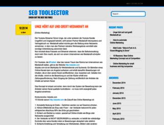 seotoolsector.wordpress.com screenshot