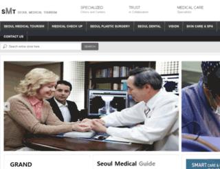 seoulmedicaltourism.com screenshot