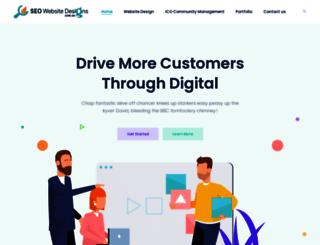 seowebsitedesigns.com.au screenshot