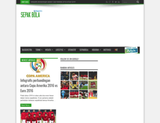sepakbola.blogekstra.com screenshot