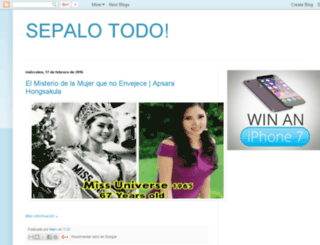 sepalotodoahora.com screenshot