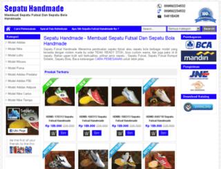 sepatufutsalhandmade.com screenshot