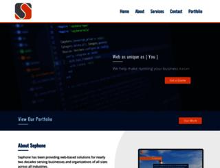 sephone.com screenshot