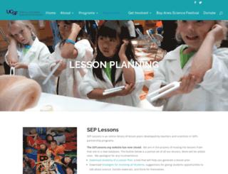 seplessons.org screenshot