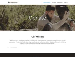 septembeard.org screenshot