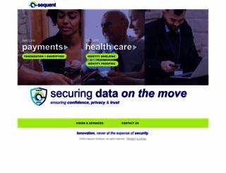 sequent.com screenshot