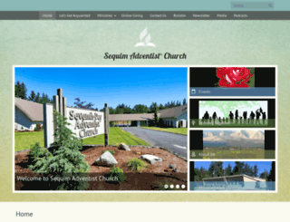 sequim22.adventistchurchconnect.org screenshot