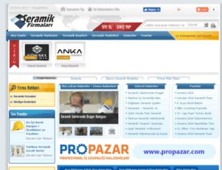 seramikfirmalari.com screenshot