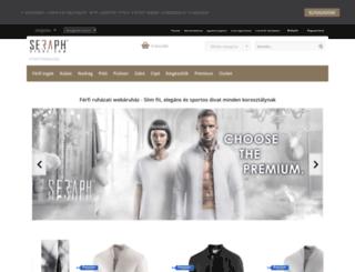 seraphstore.com screenshot