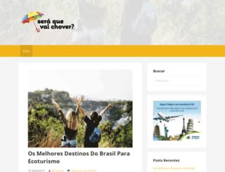 seraquevaichover.com.br screenshot