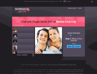 serbianchatcity.com screenshot