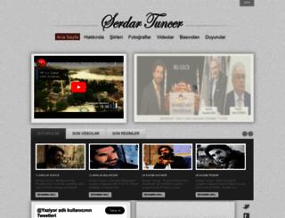 serdartuncer.com.tr screenshot