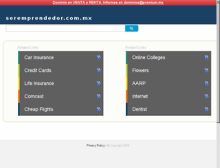 seremprendedor.com.mx screenshot