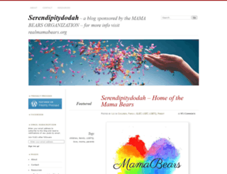 serendipitydodah.wordpress.com screenshot