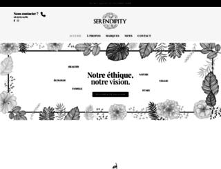 serendipityfrance.com screenshot
